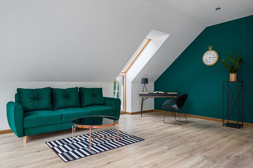 hybrid flooring in home